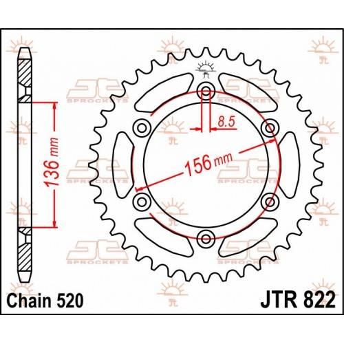 Corona Acero JT Beta / Gas...