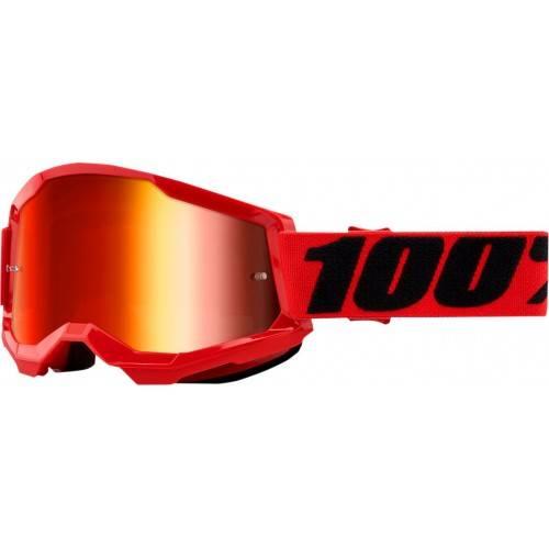 Gafas 100% STRATA 2 RED Espejo