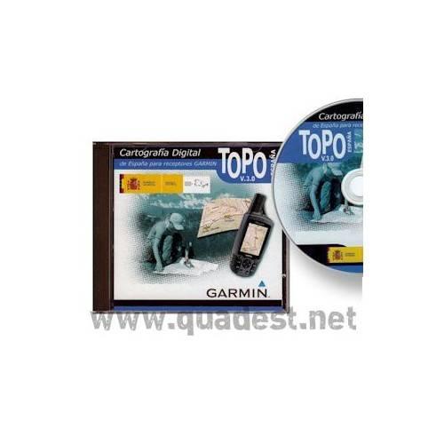 DVD GARMIN Topo España 1:25000