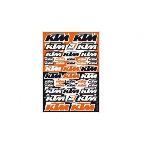 Lámina Adhesivos KTM Logo...