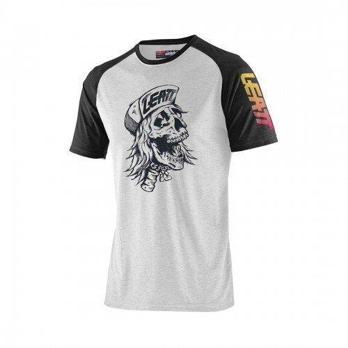 Camiseta Casual LEATT Skull