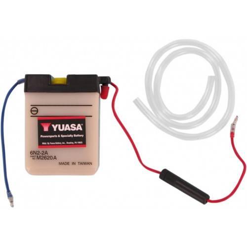 Batería YUASA 6N2-2A