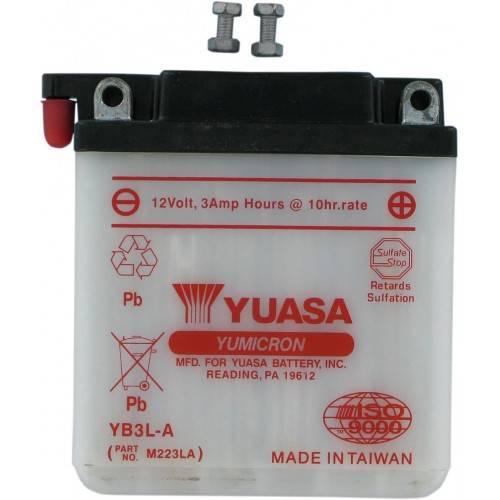 Batería YUASA YB3L-A