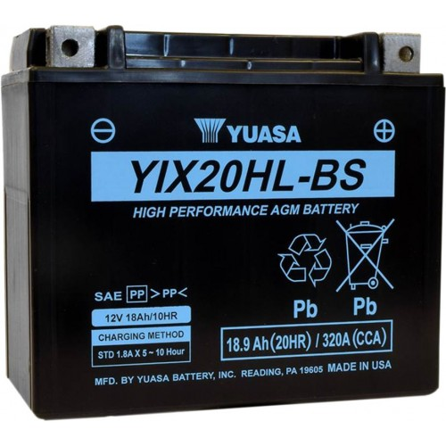 Batería YUASA YIX20HL-BS
