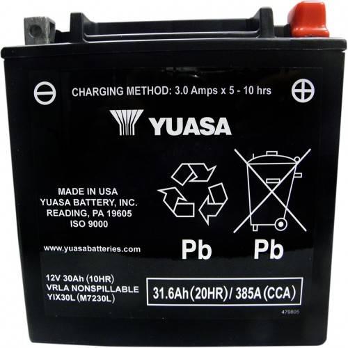 Batería YUASA YIX30L-BS