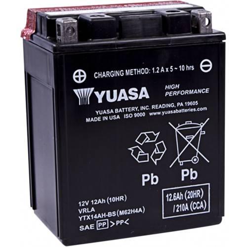 Batería YUASA YTX14AH-BS