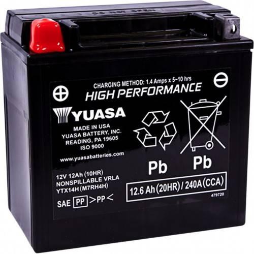 Batería YUASA YTX14H