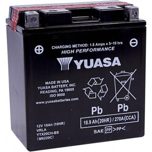 Batería YUASA YTX20CH-BS