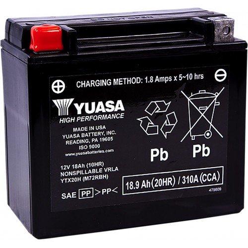 Batería YUASA YTX20H FA