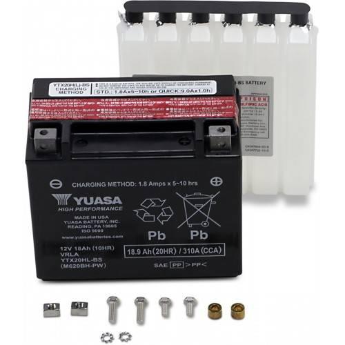 Batería YUASA YTX20HL-BS-PW
