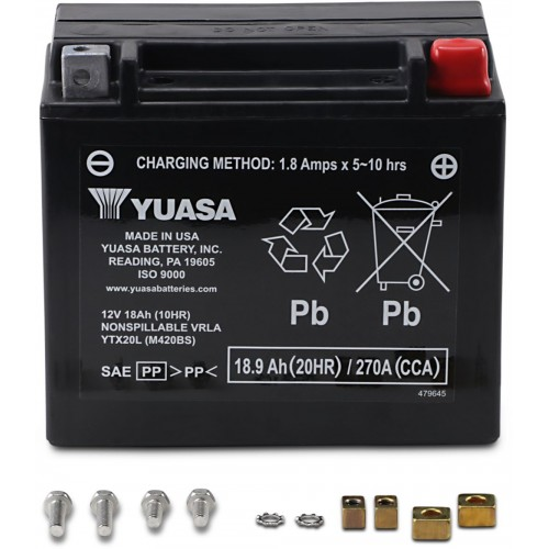 Batería YUASA YTX20L
