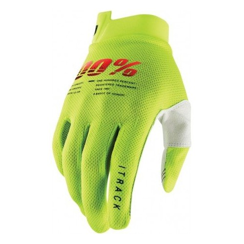 Guantes 100% ITRACK FLUOR