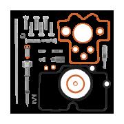 Kit Reparación Carburador Motocross, Enduro, Trial | Quadest